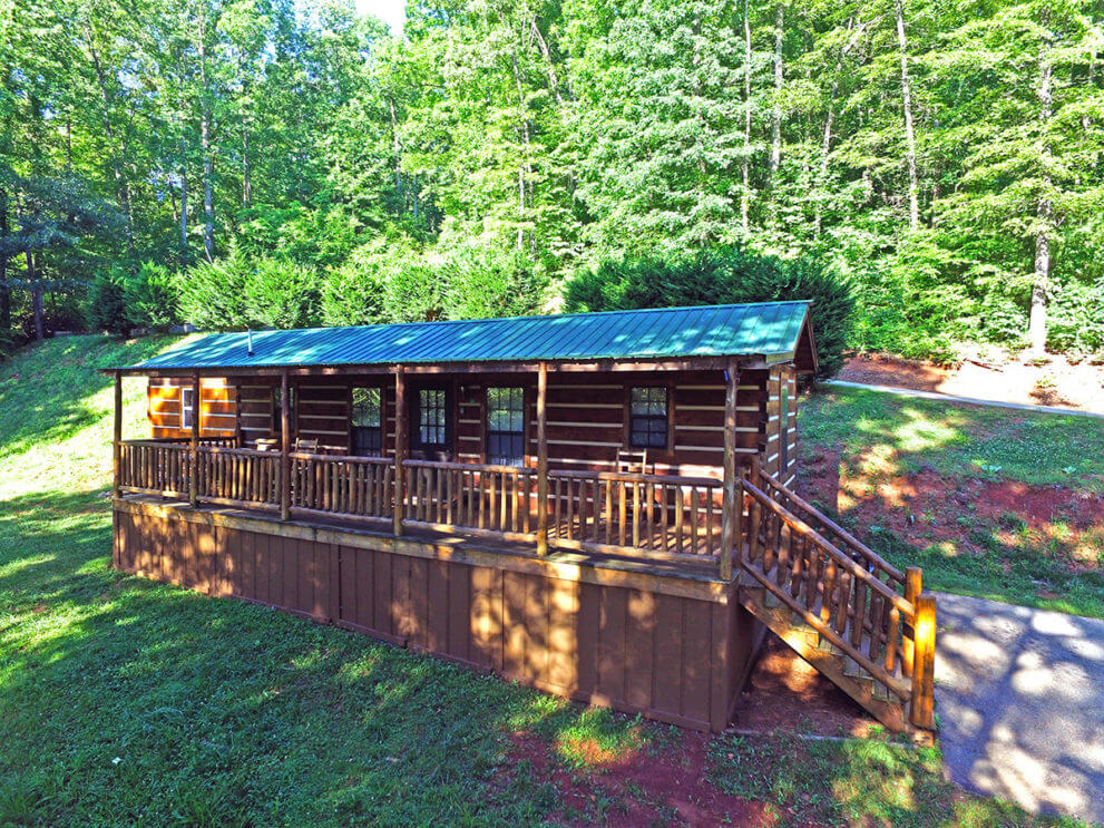 Cabin rental franklin